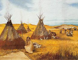 where is the lakota tribe located