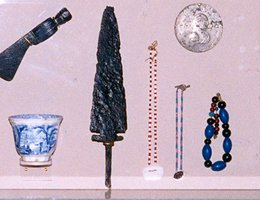 Typical trade goods of the period