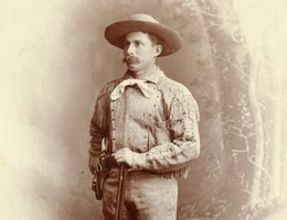 James Cook, trail boss, 1887