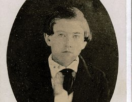 J. Sterling Morton as a young boy, circa 1840s