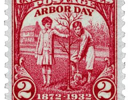 1932 U.S. stamp: 60th Anniversary of Arbor Day