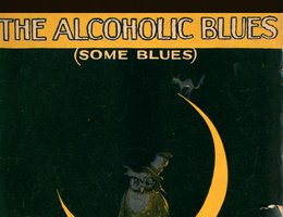 "Sheet music for ""The Alcoholic Blues"""