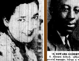"From the first edition of the ""Omaha Star"" on July 9, 1938; presenting Mildred and Gilbert as owners"