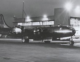 A B-29 Superfortress at the Martin Bomber Plant