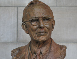 >Alvin Saunders Johnson Bust by Wesley Wofford