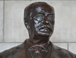 J. Sterling Morton Bust by Rudolph Evans