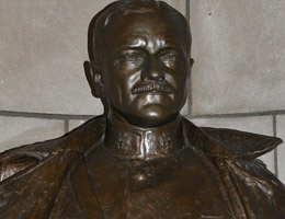 John J. Pershings Bust by Bryant Baker