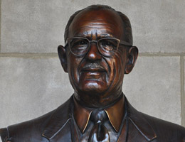 Nathan J. Gold Bust by George Lundeen