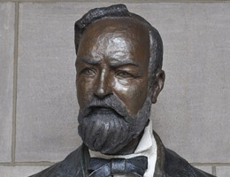 Robert W. Furnas Bust by Tom Palmerton