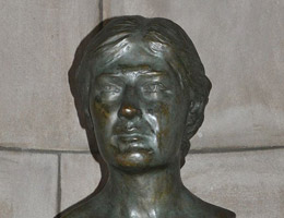 Willa Cather Bust by Paul Swan