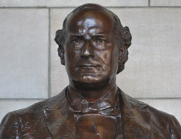 William Jennings Bryan Bust by William Whitney Manatt